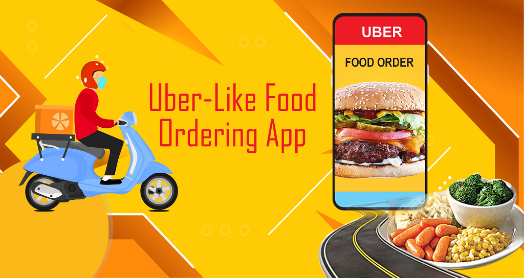 Uber like Food Ordering app hepto technologies
